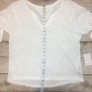Free People Tops - NWT Free People Head in the Clouds Solid Tee